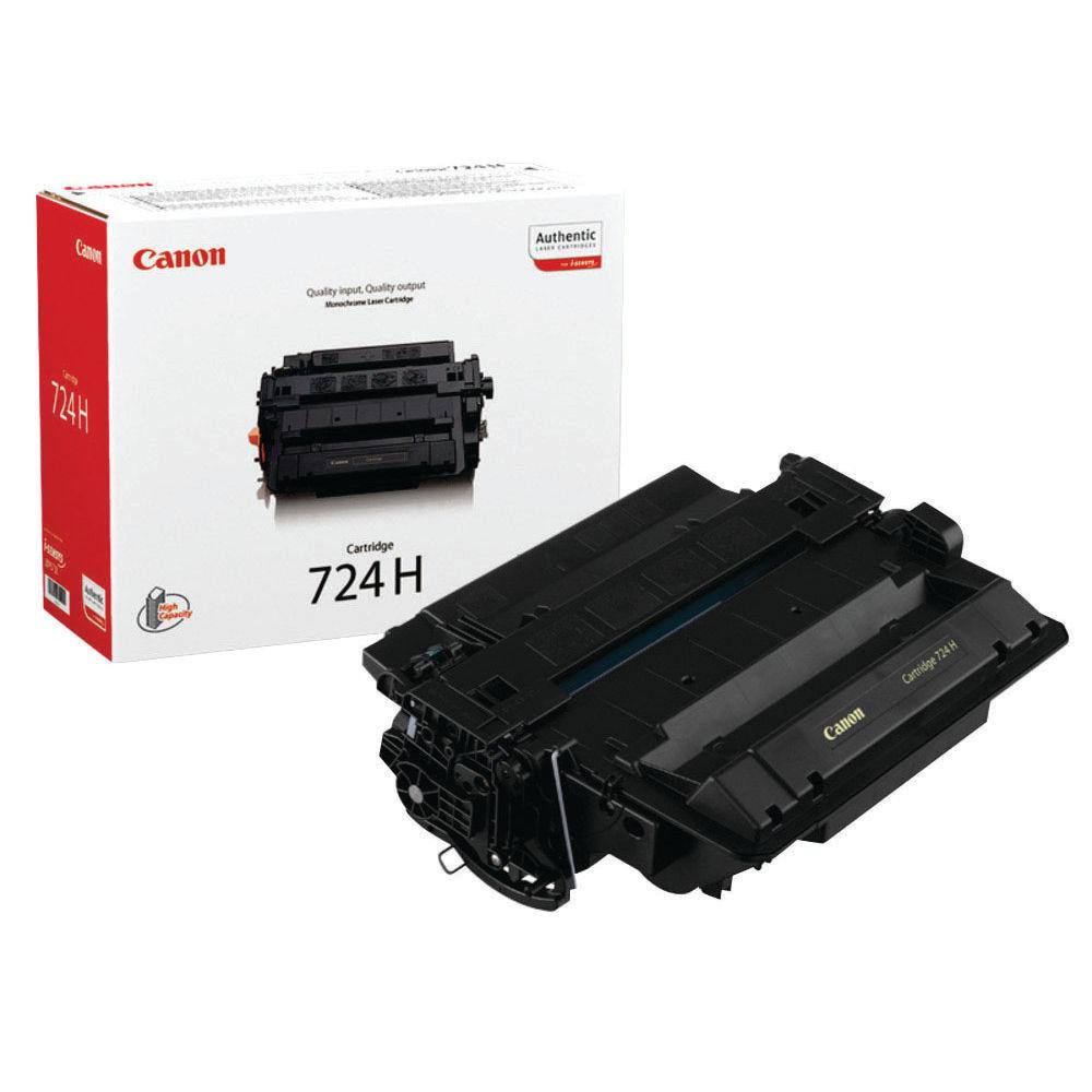Canon 724H Black Toner Cartridge - High Capacity 3482B002AA