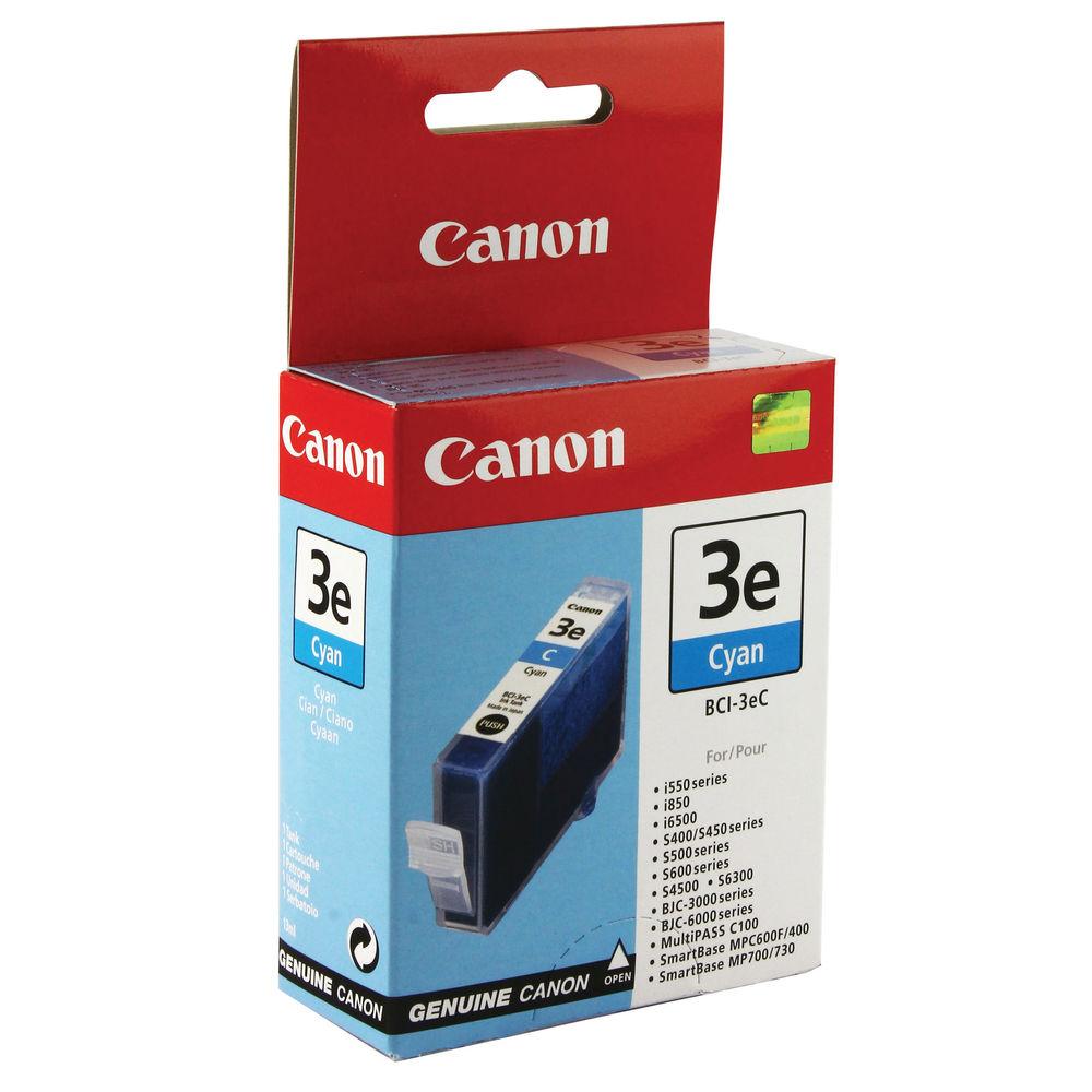 Canon BCI-3EC Cyan Ink Tank - 4480A002