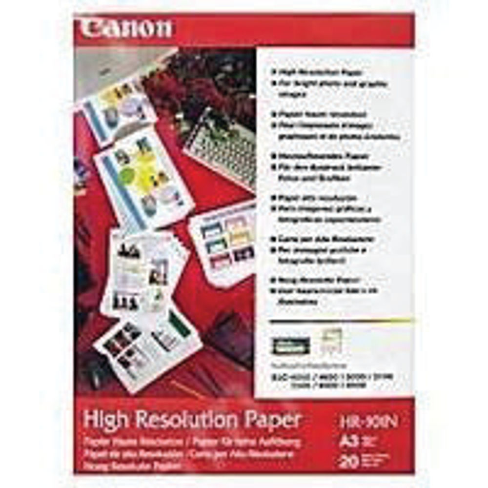 Canon A3 High Resolution Paper, 106gsm - 100 Sheets - 1033A005