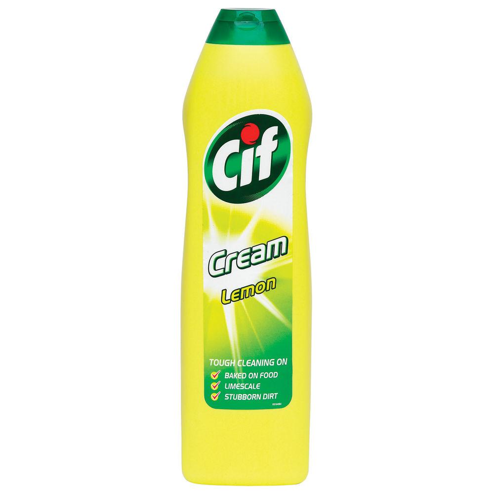 Cif 500ml Lemon Cream Cleaner - 1014099