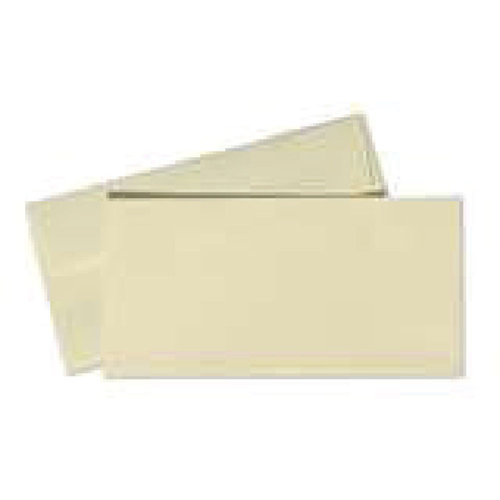 Conqueror Laid Cream Plain Peel and Seal DL Envelopes 120gsm Pack 500 CDE1003CR