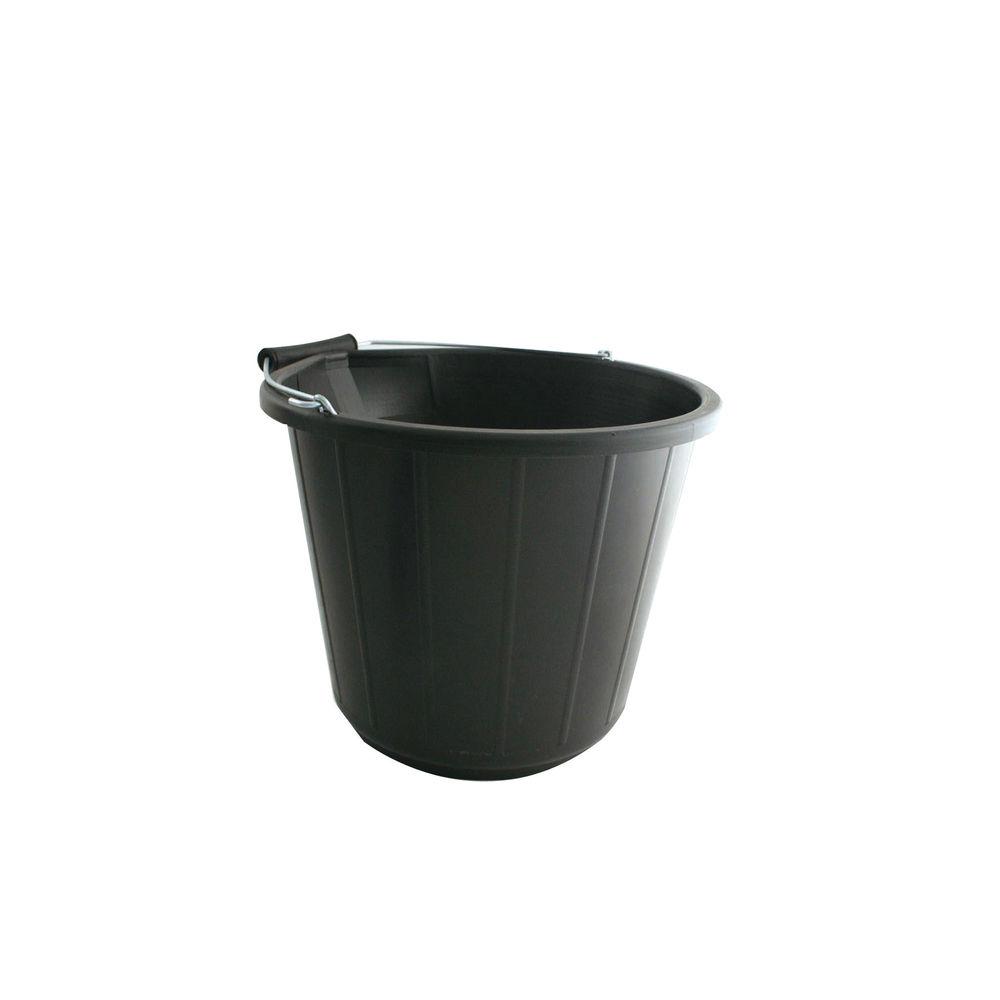 Black 14 Litre Heavy Duty Bucket – VOW/BUCKET.01