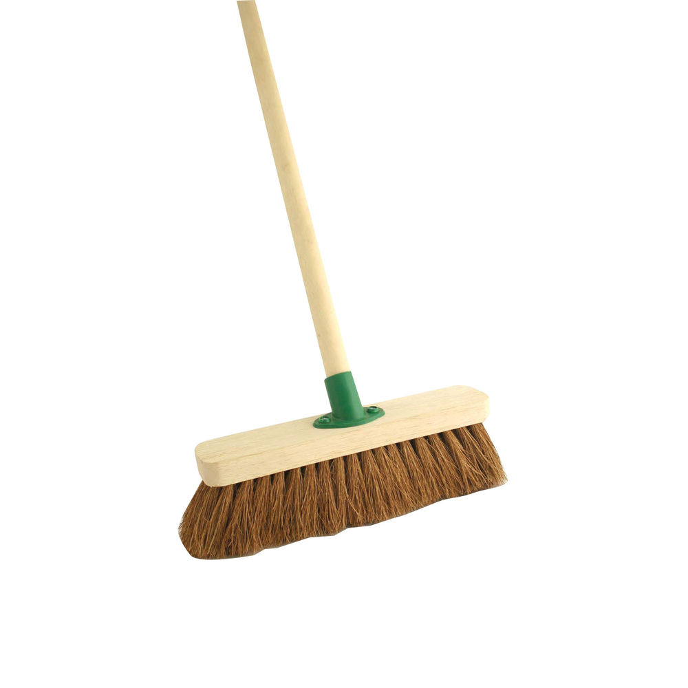 Coco 12 Inch Soft Broom With Handle - VOW/F.01/BKT/C4