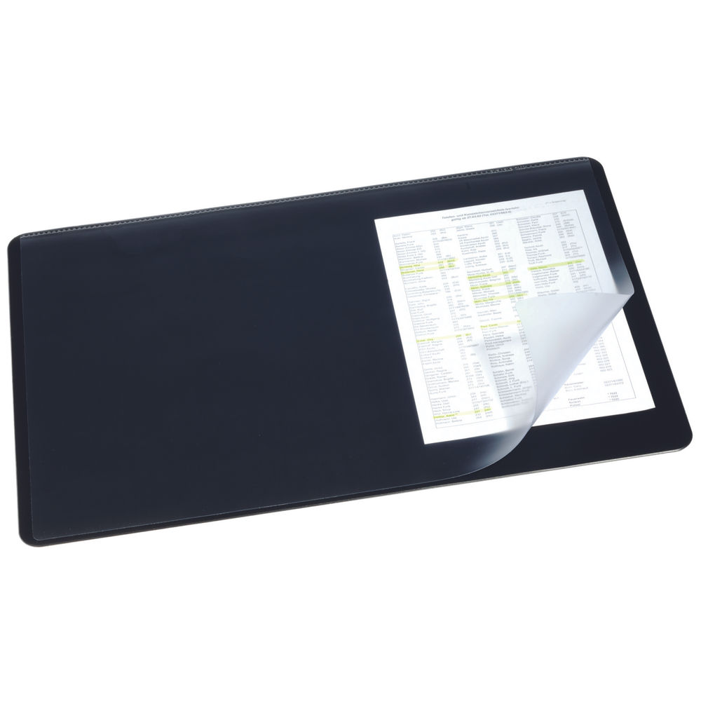 Durable 40 x 53cm Desk Mat with Overlay – 7202/01