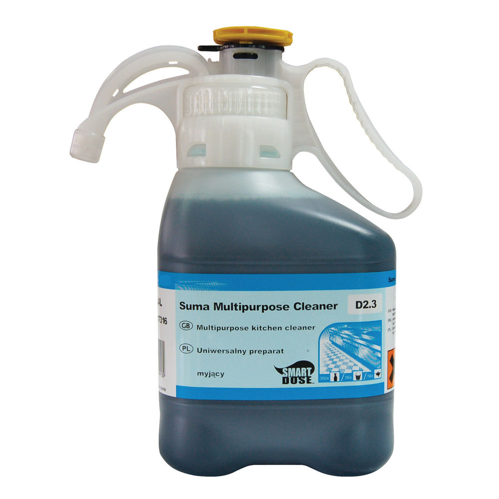 Diversey Suma Multipurpose D2.3 Kitchen Cleaner, Pack of 2 - 7517316