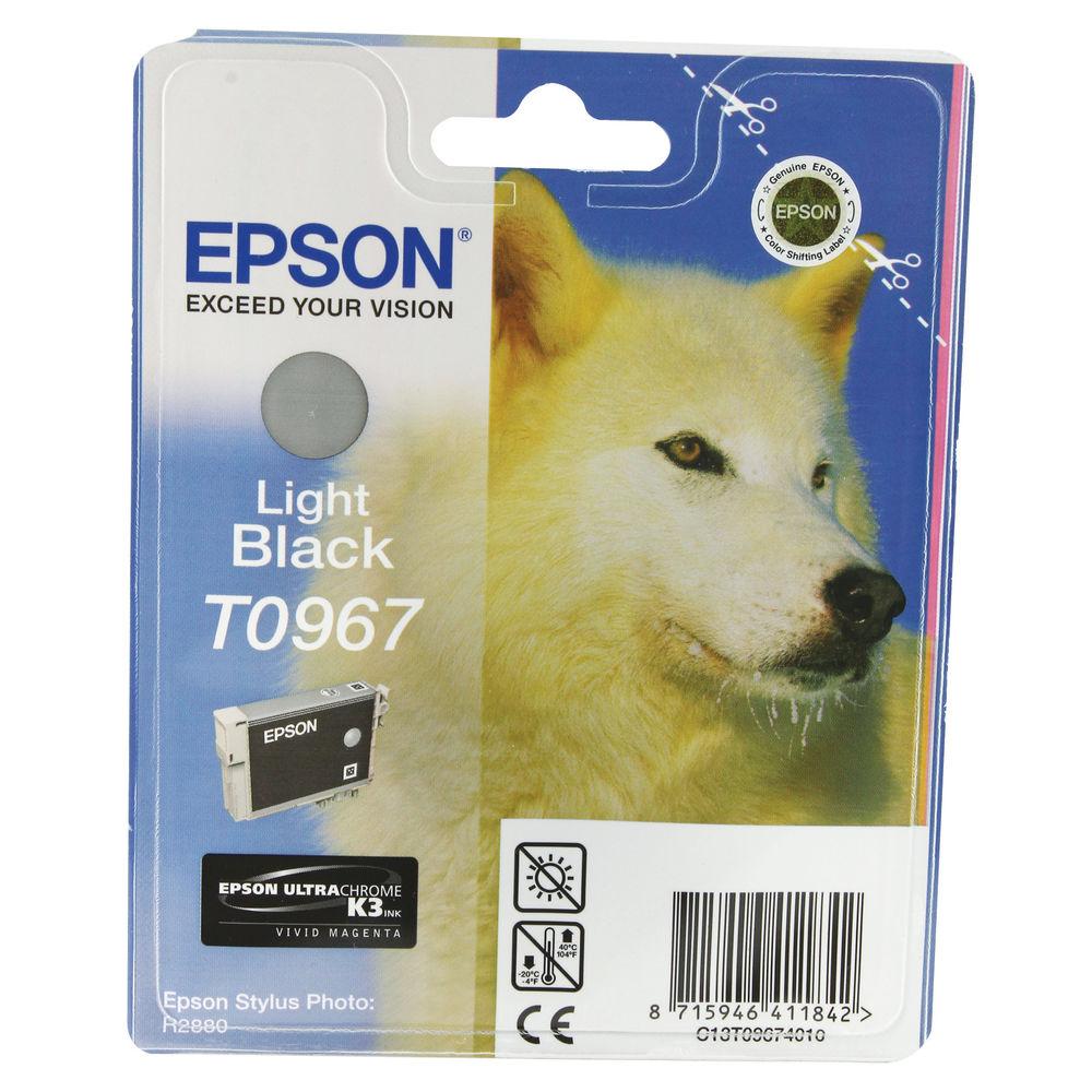 Epson T0967 Light Black Ink Cartridge - C13T09674010