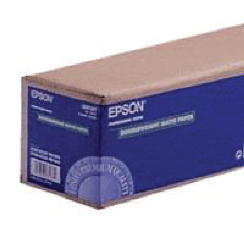 Epson 44 Inches x 25m Double Weight Matte Paper 180gsm -  C13S041387