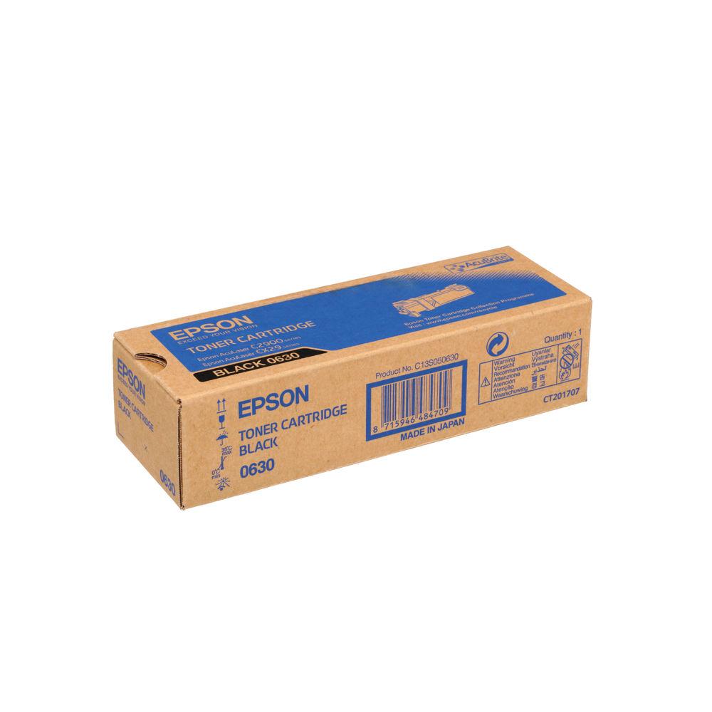 Epson C2900N Black Toner Cartridge - C13S050630
