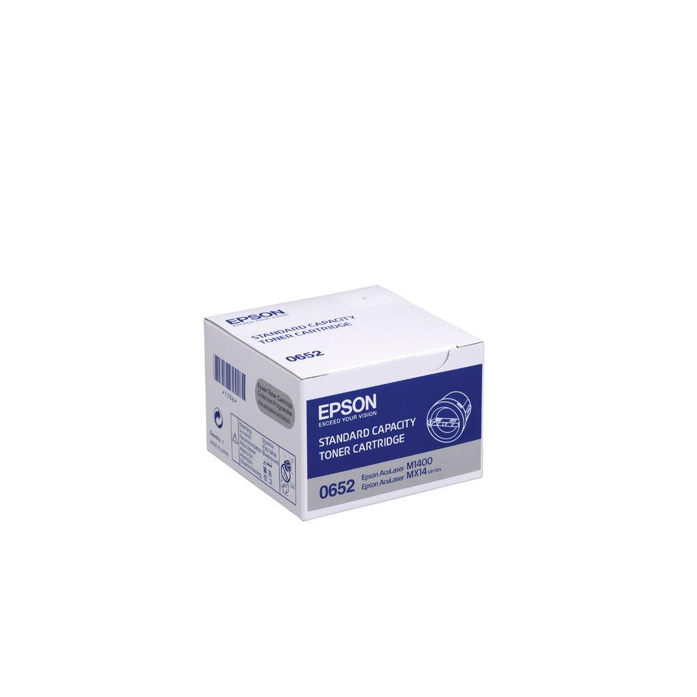 Epson AL-M1400/MX14 Black Toner Cartridge - C13S050652