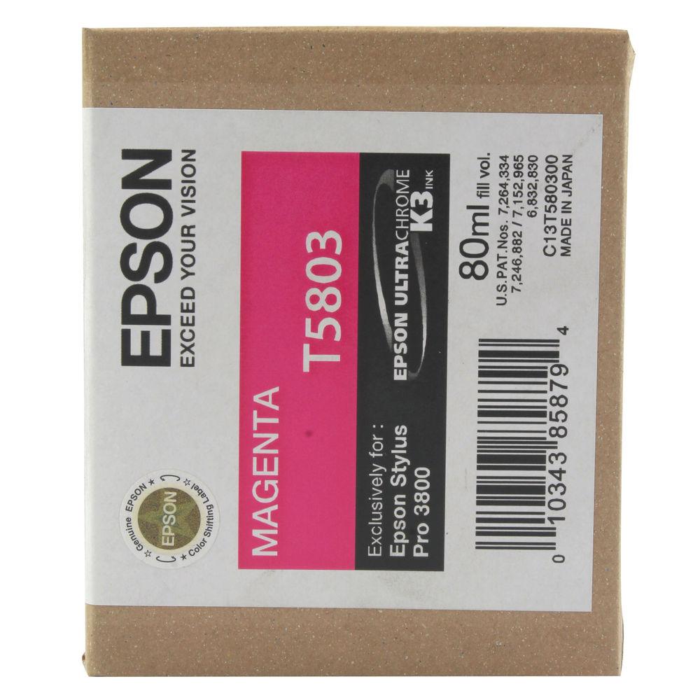 Epson T5803 Magenta Ink Cartridge - C13T580300
