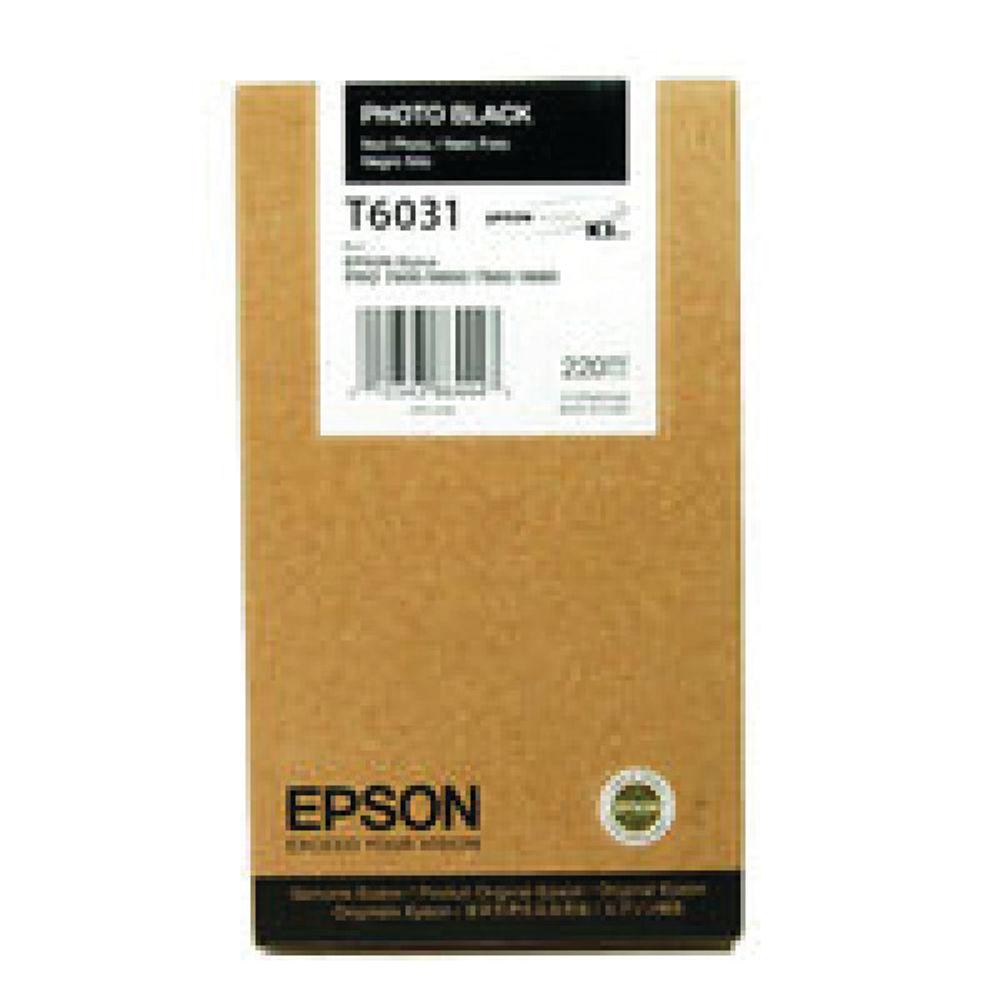 Epson T5631 Black Ink Cartridge - C13T563100