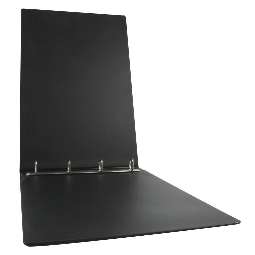 Esselte Black A3 Landscape 4 O-Ring Binder 25mm - 68737