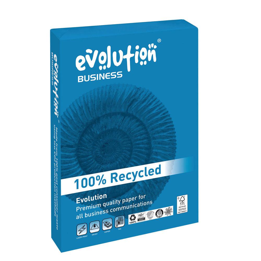 Evolution Business White A4 Paper, 120gsm, 250 Sheets - EVBU21120