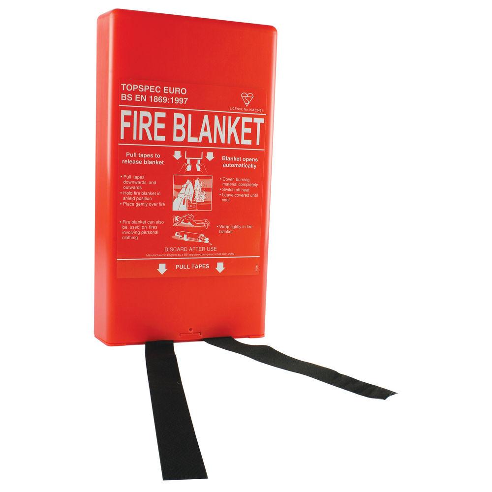 Fire Blanket Fibreglass 1800 x 1200mm - FM61020