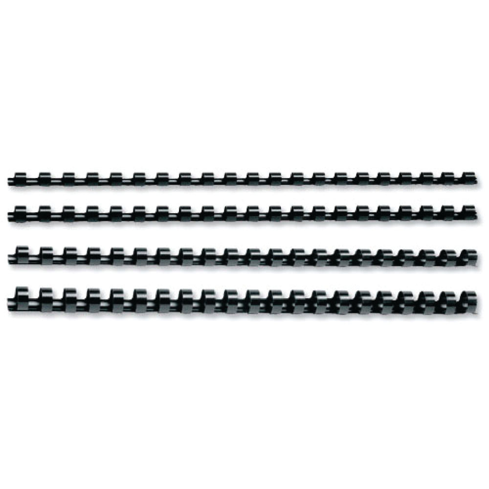 GBC CombsBind A4 19mm Binding Combs Black (Pack of 100) 4028601