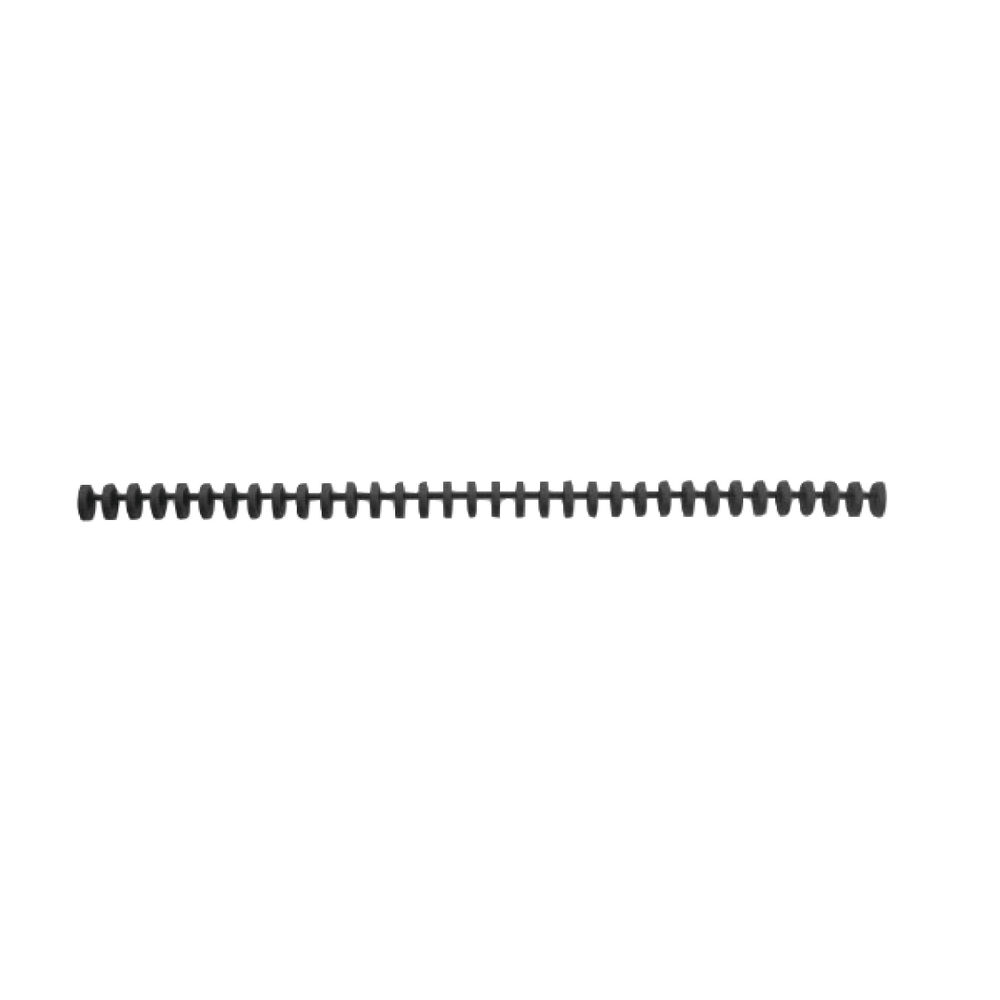 GBC ClickBind Binding A4 Spines 8mm Black (Pack of 50) 388019E