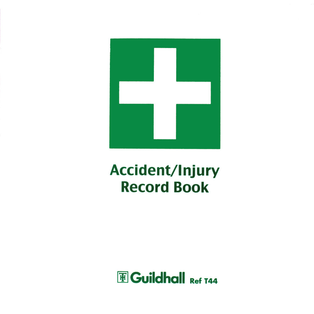Guildhall Accident Injury Book T44 Pack GH11954