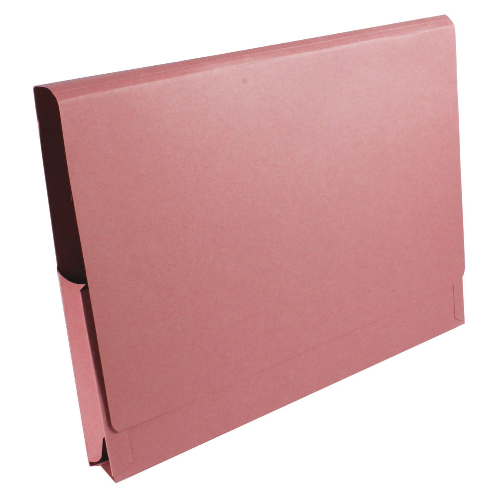 Guildhall Pink 14 x 10 Inch Pocket Wallets 315gsm, Pack of 50 - PW3-PNK
