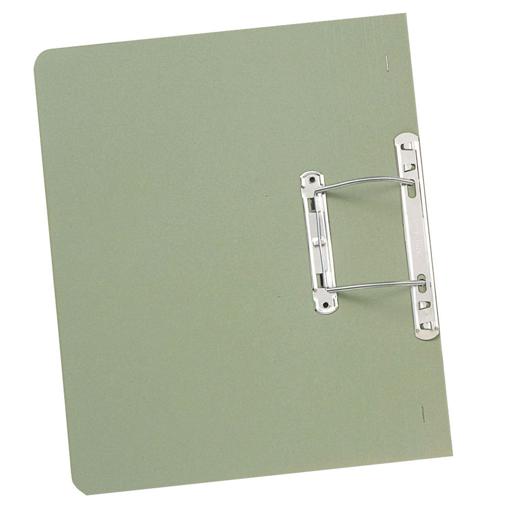 Guildhall Foolscap Green 38mm Transfer Spiral Files 420gsm- Pack of 25 - GH23042