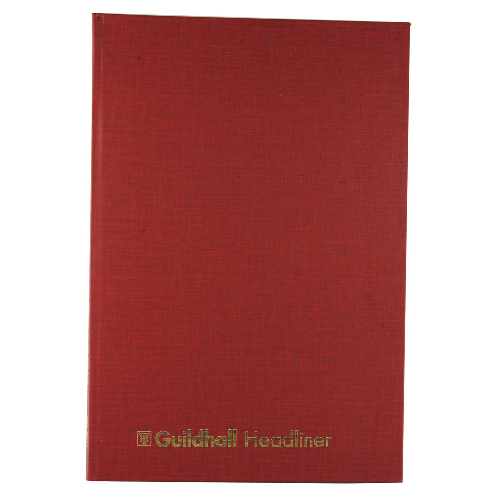 Exacompta Guildhall Headliner Book 80 Pages 298x203mm 38/14 1151