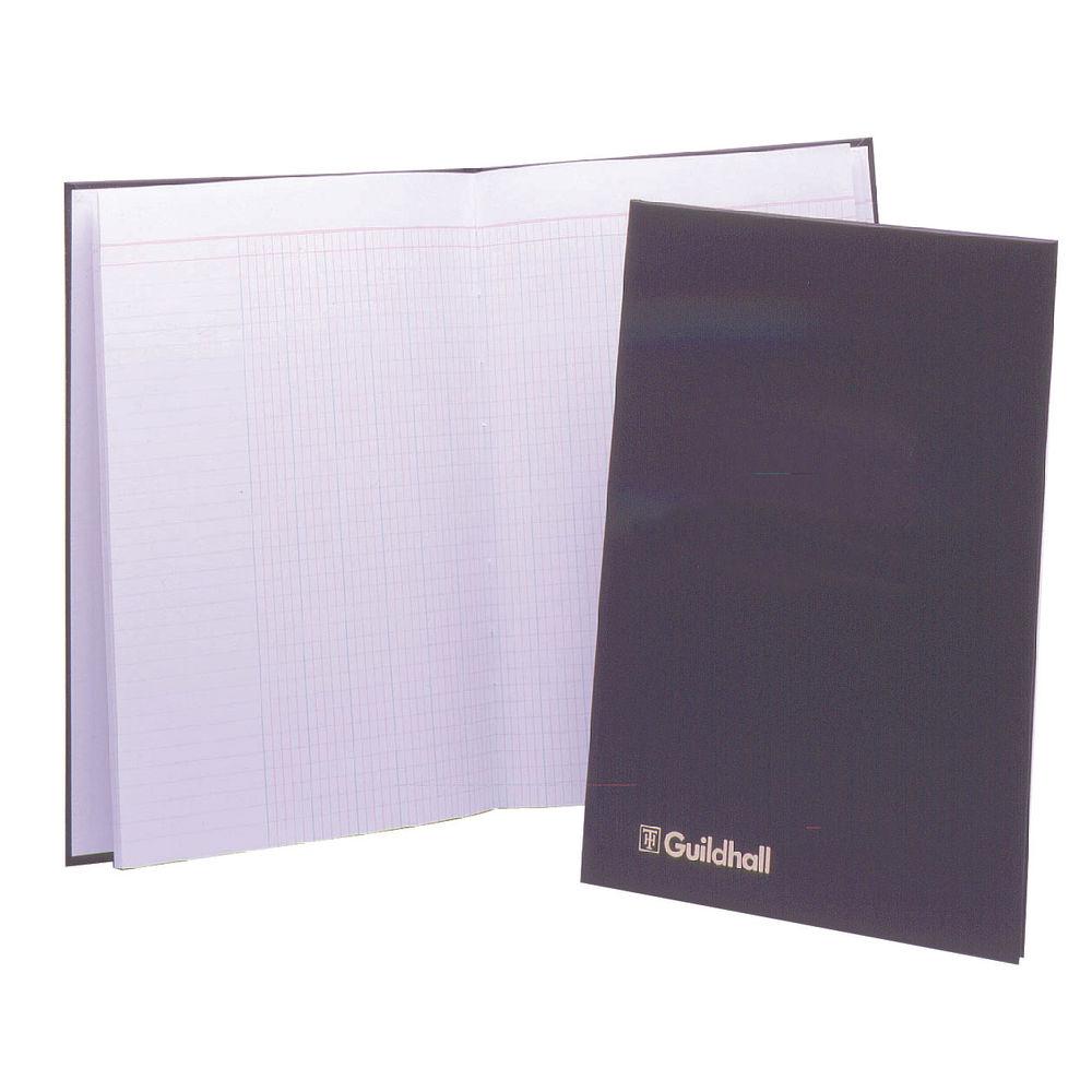 Guildhall Black Attendance Register Book, 298 x 203mm - 1827