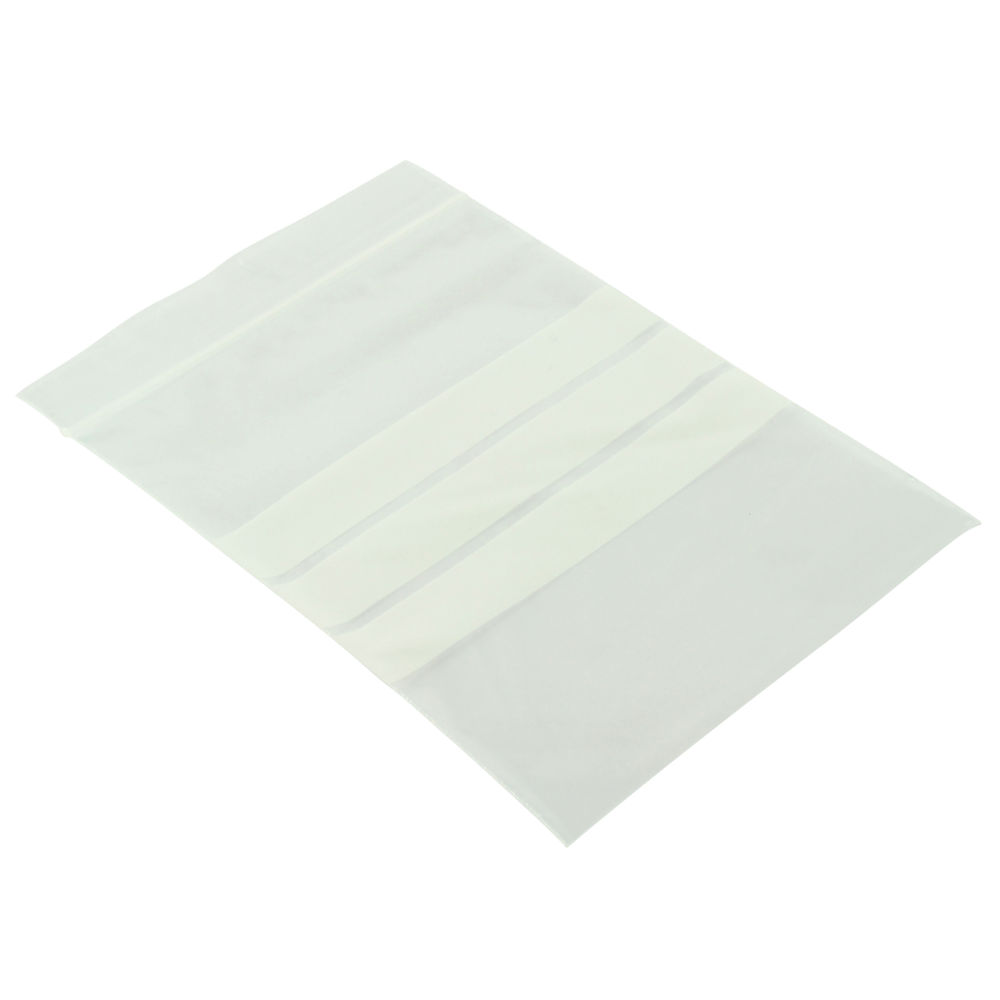 Write-on Resealable Clear Minigrip Bag, 100x140mm - Pack of 1000 - GA-125