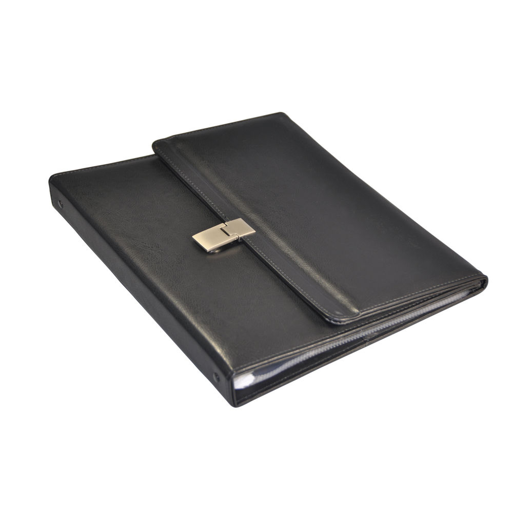 Monolith Leather Look Desktop Presenter Landscape A4 2798