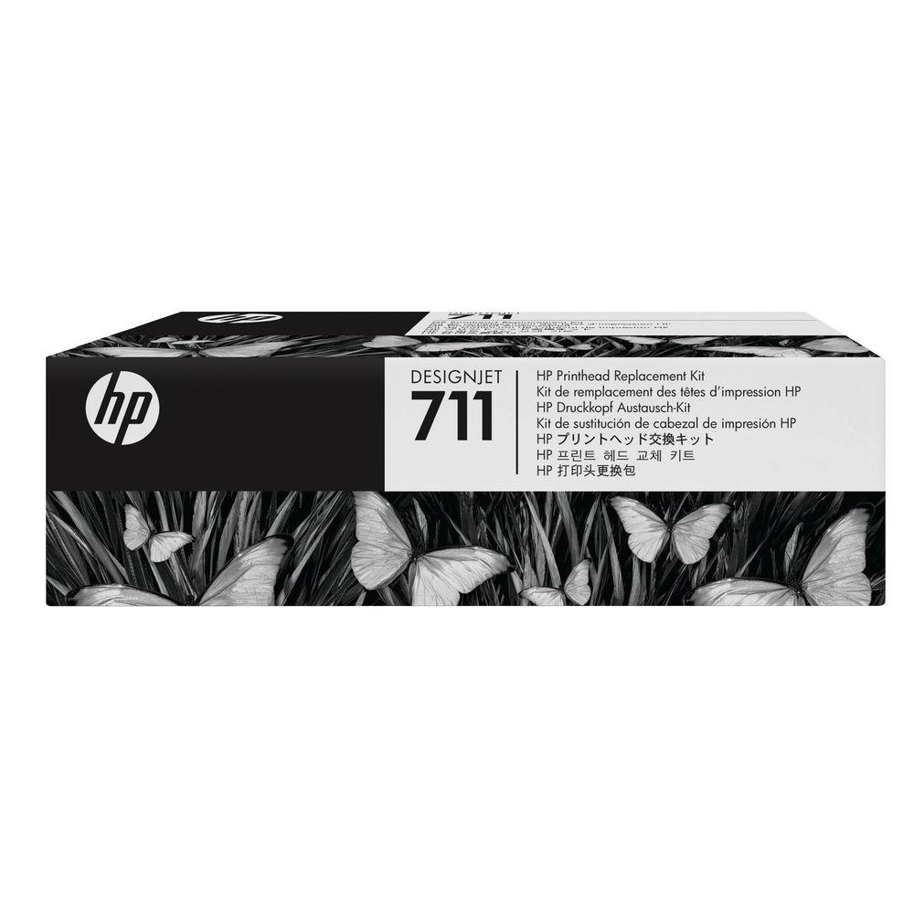 HP 711 Ink Cartridge Multipack Printhead - C1Q10A