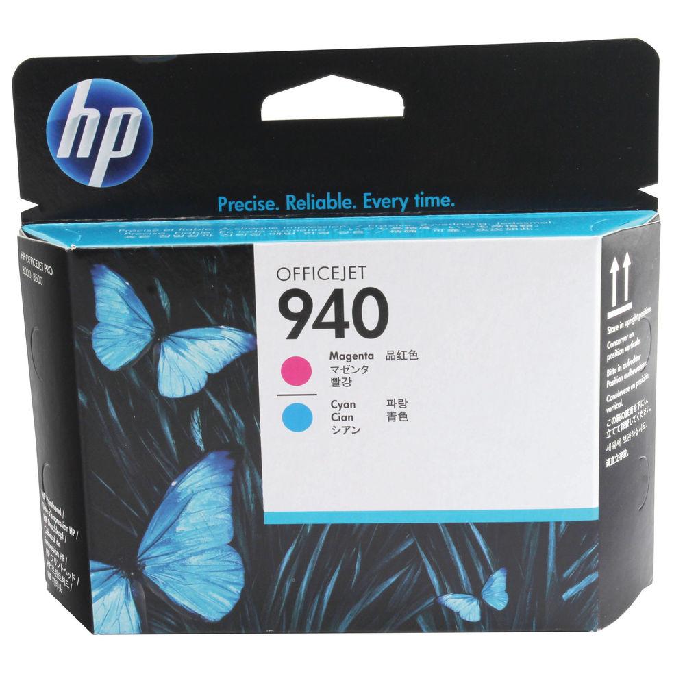 HP 940 Magenta and Cyan Printhead - C4901A