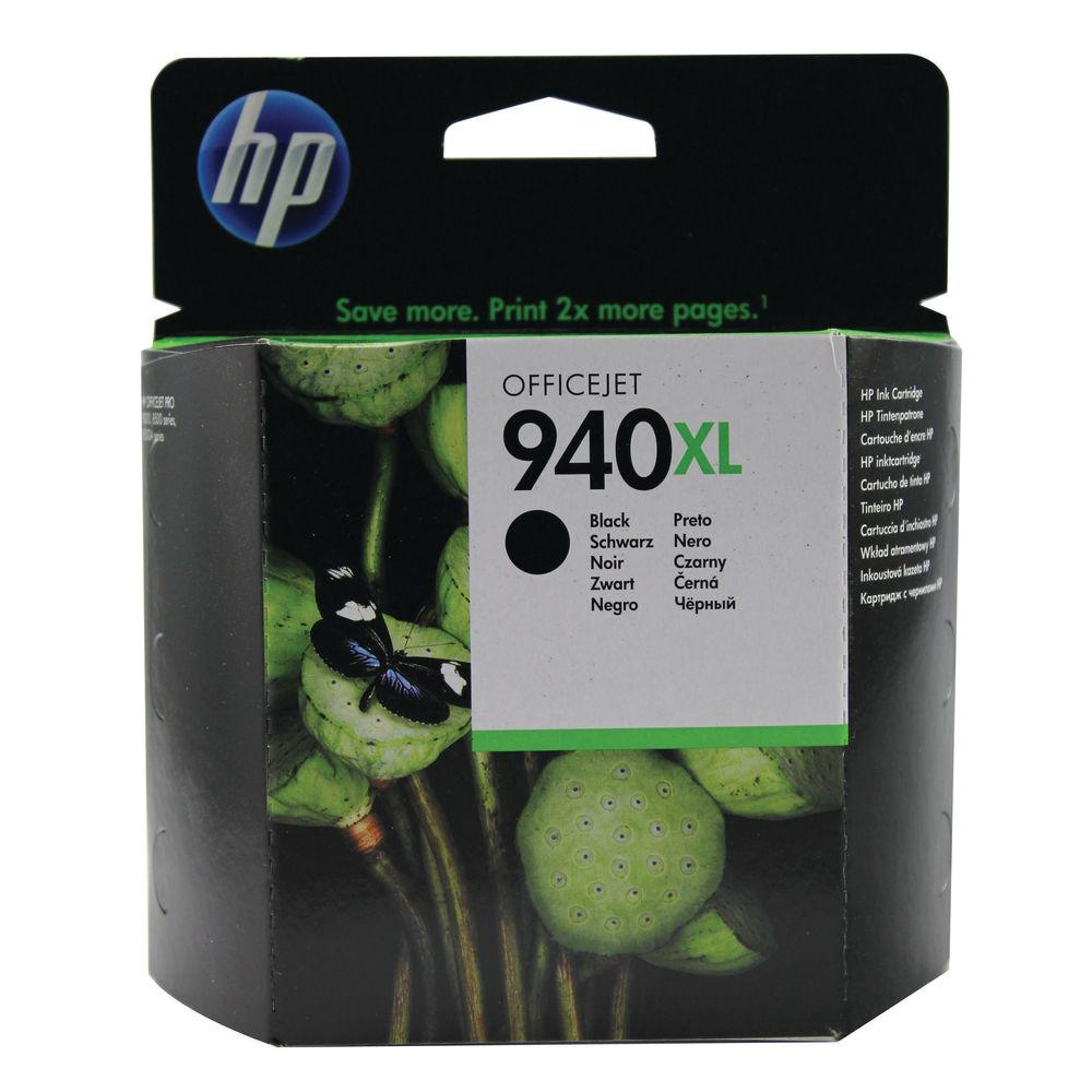 HP 940XL Black High Yield Ink Cartridge | C4906AE