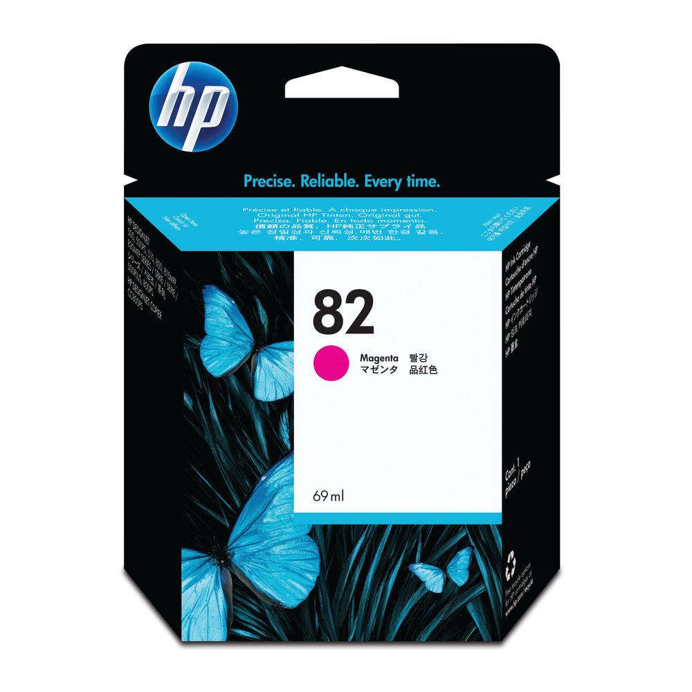 HP 82 Magenta Inkjet Cartridge C4912A