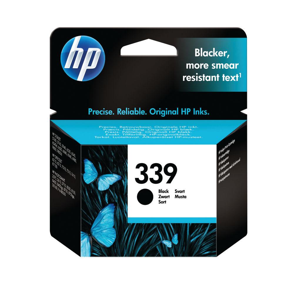 HP 339 Black Inkjet Cartridge C8767EE