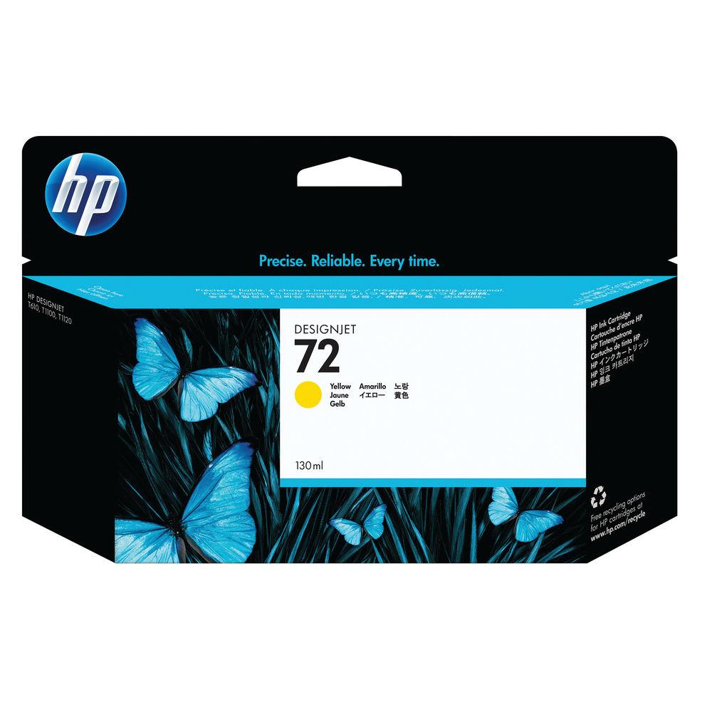 HP 72 High Capacity Yellow Ink Cartridge - C9373A