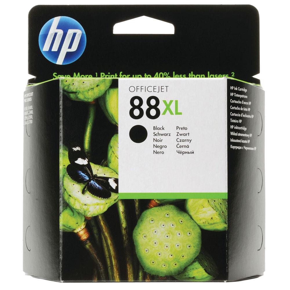 HP 88XL High Yield Black Inkjet Cartridge (2300 page capacity) C9396AE