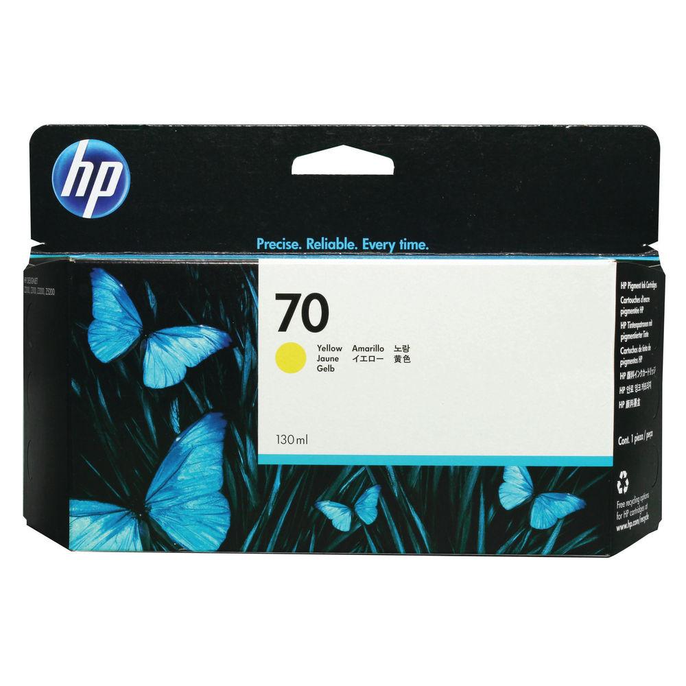 HP 70 Yellow Standard Yield Ink Cartridge | C9454A