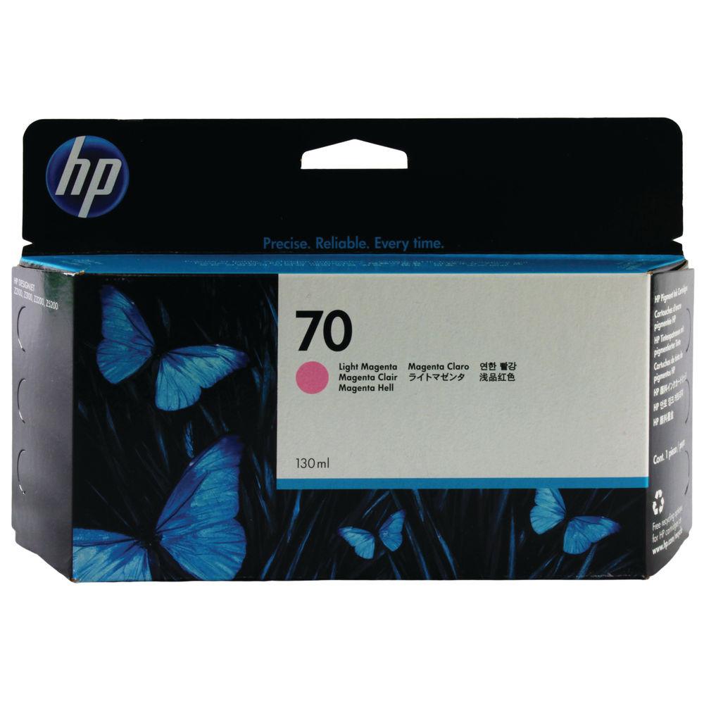 HP 70 Light Magenta Standard Yield Ink Cartridge | C9455A