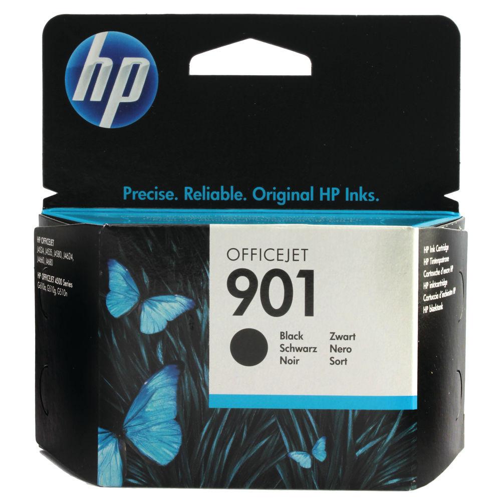 HP 901 Black Ink Cartridge - CC653AE