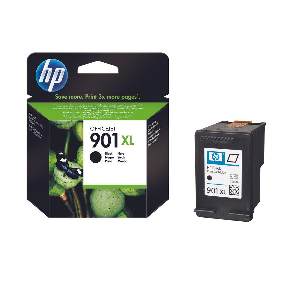 HP 901XL High Capacity Black Ink Cartridge - CC654AE