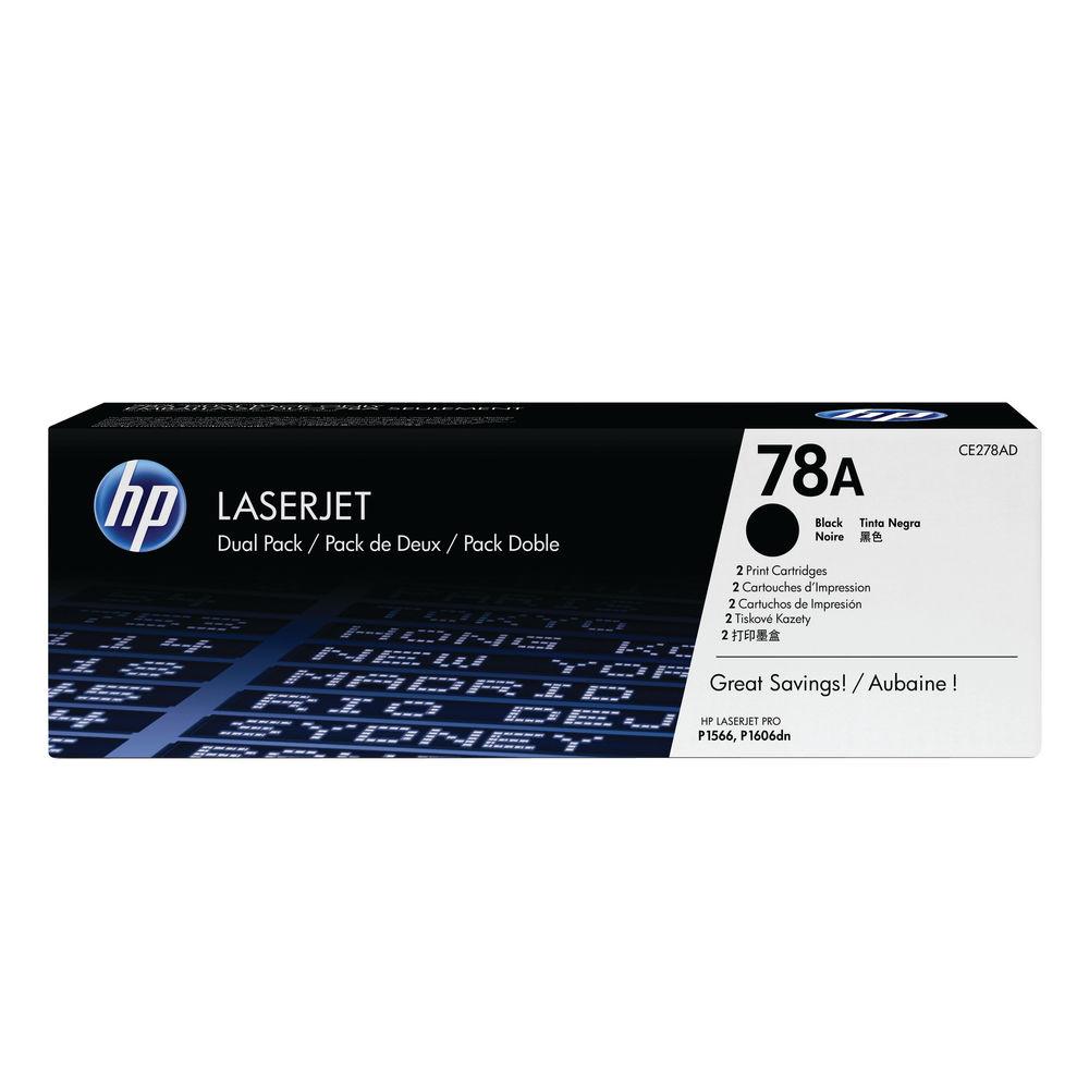 HP 78A Black Laserjet Toner Cartridge CE278A