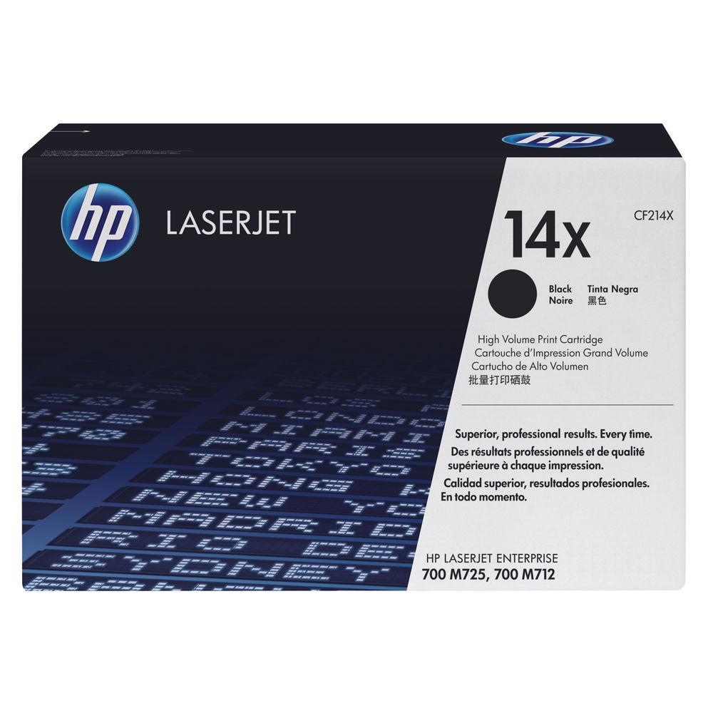 HP 14X Black Laserjet Toner Cartridge CF214X