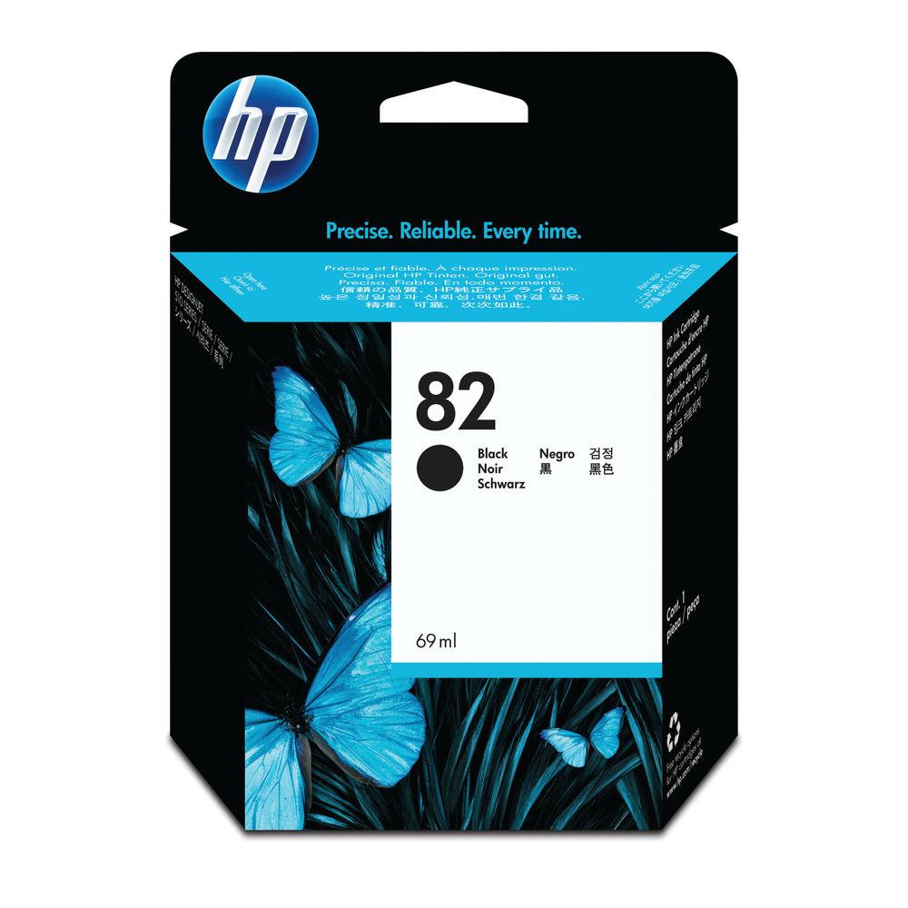 HP 82 Black Ink Cartridge - High Capacity CH565A