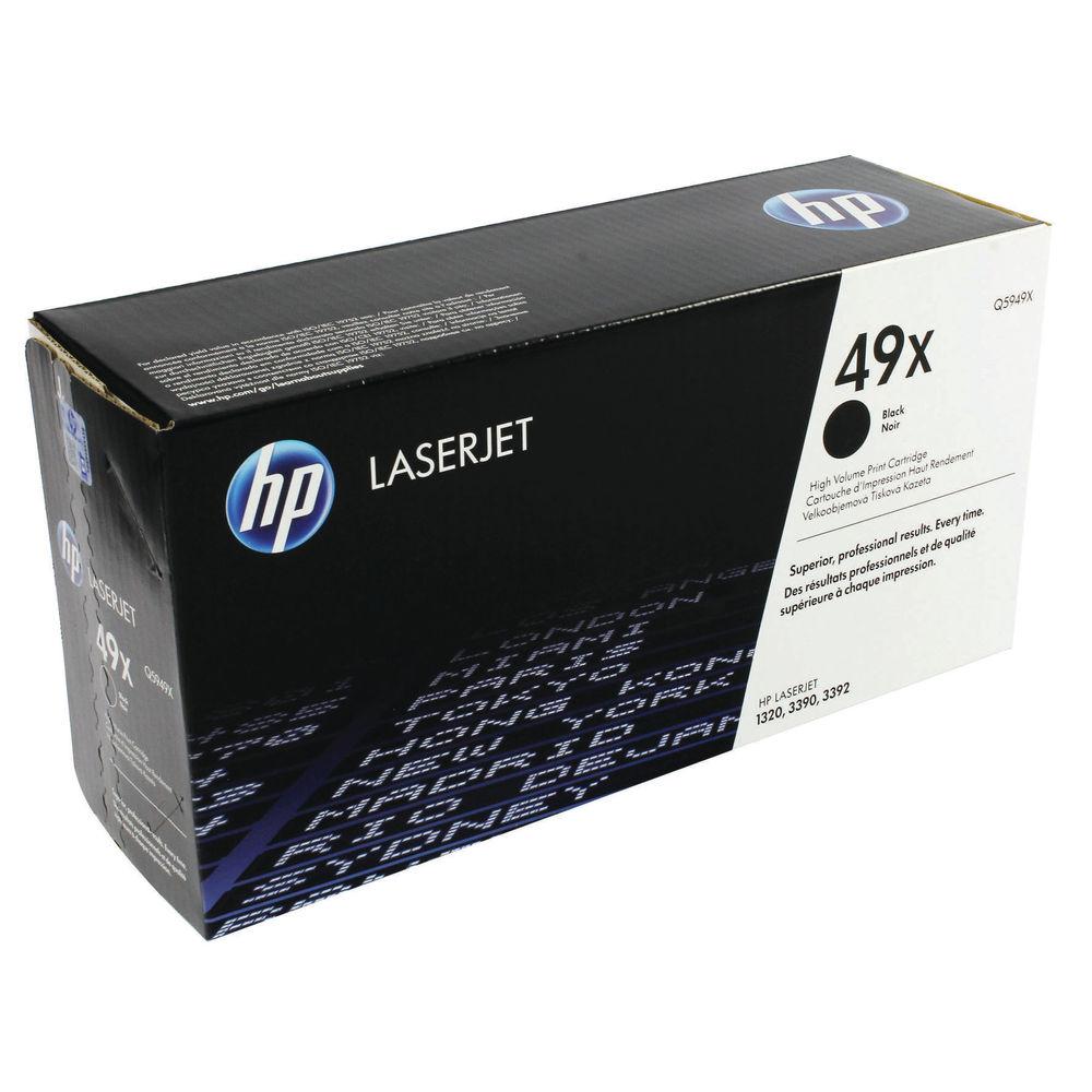 HP 49X Black LaserJet Toner Cartridge High Capacity | Q5949X