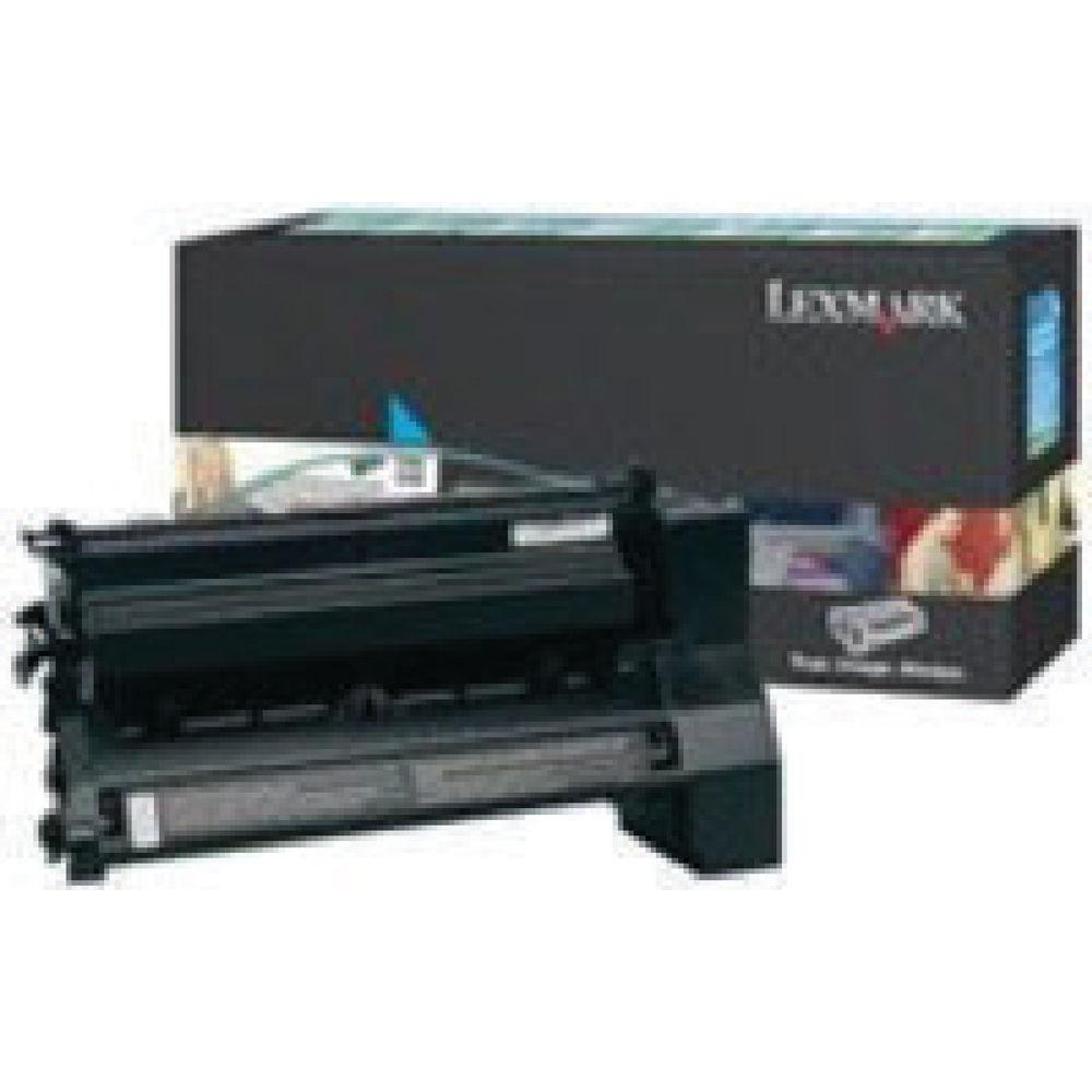Lexmark Cyan Extra High Yield Return Program Toner Cartridge C782X1CG
