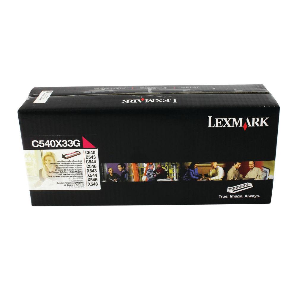 Lexmark C540 Magenta Developer Unit 0C540X33G