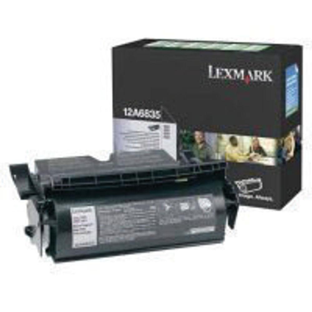 Lexmark T520/522 Black High Yield Return Programme Laser Toner 12A6835