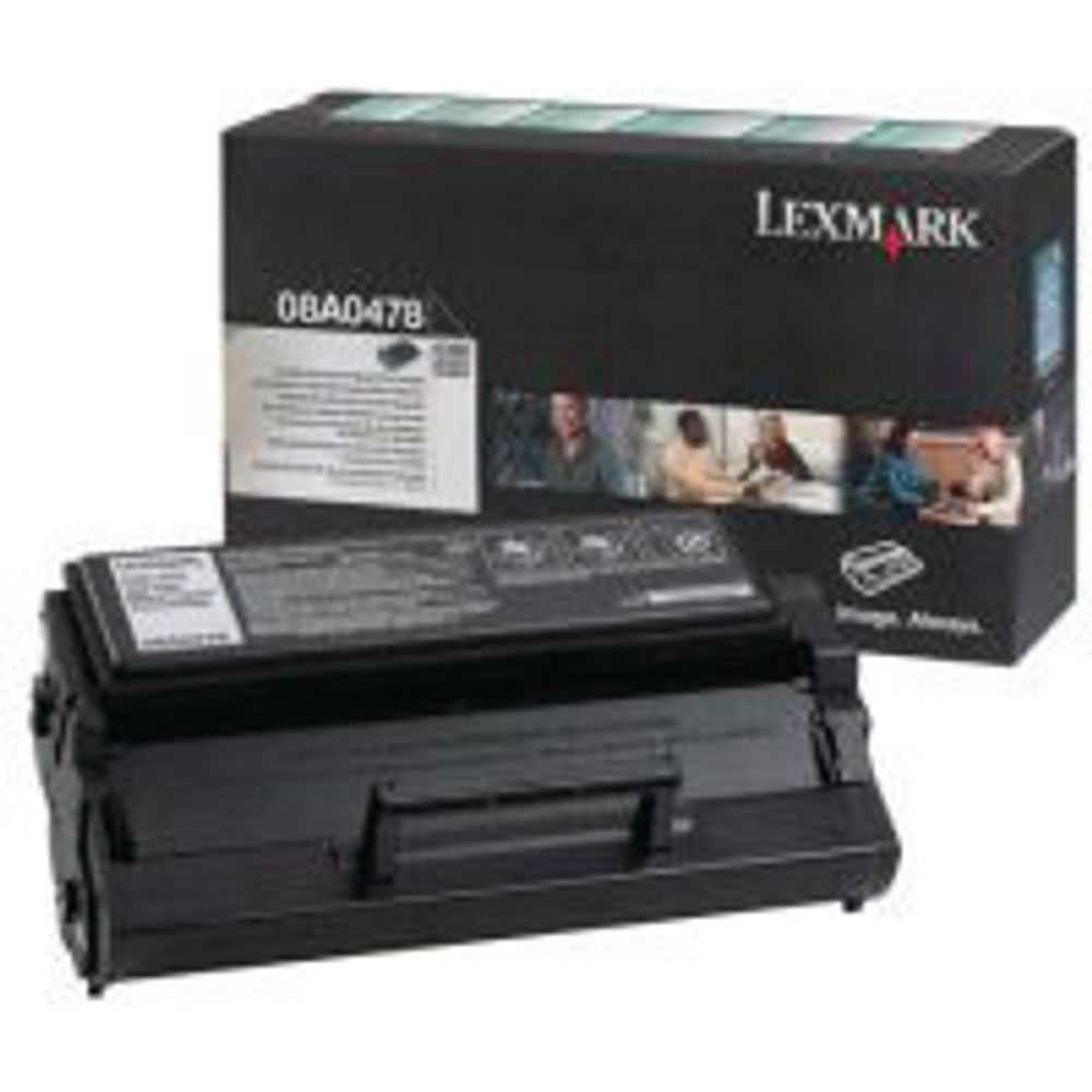 Lexmark C320/322 Black Toner Cartridge - High Capacity 08A0478