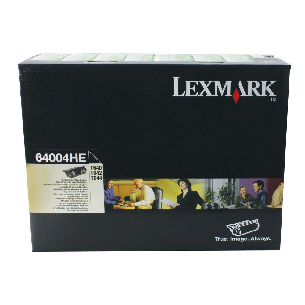 Lexmark T64X Black Toner Cartridge - High Capacity 64004HE