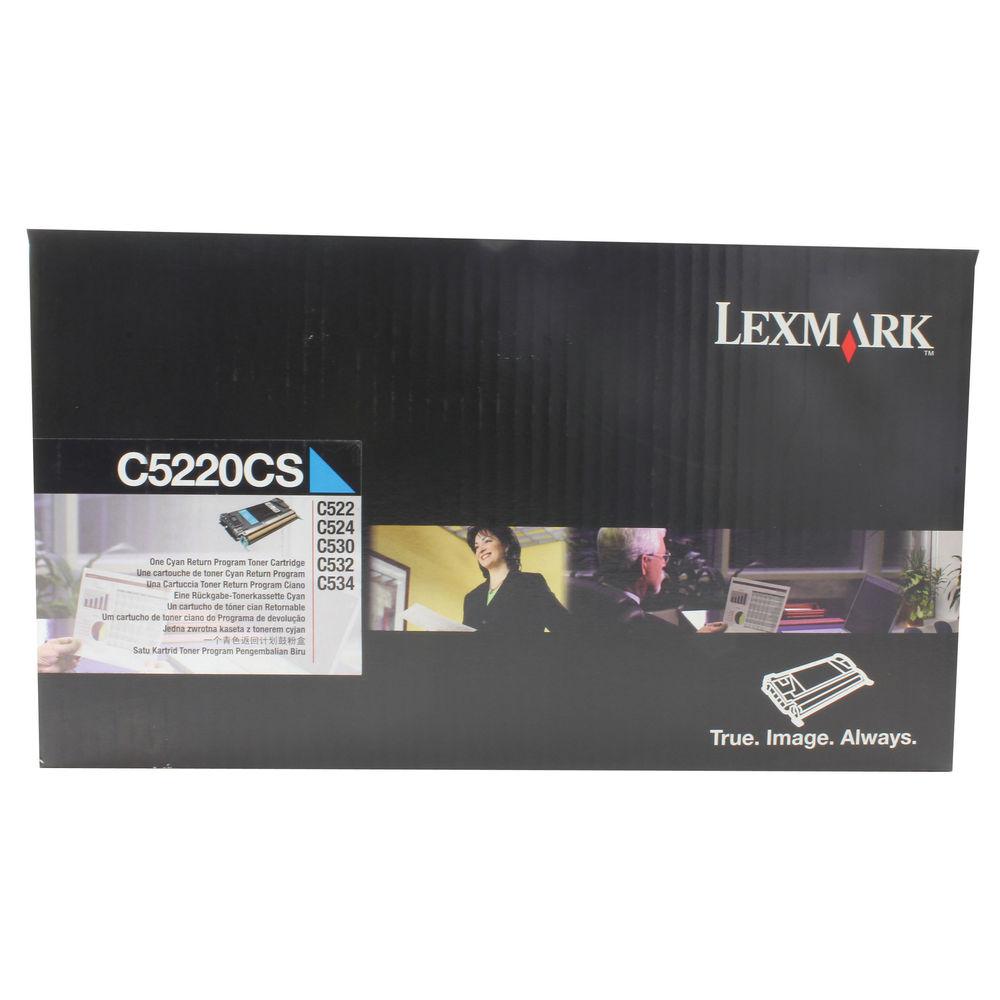 Lexmark C530 Cyan Toner Cartridge - 00C5220CS
