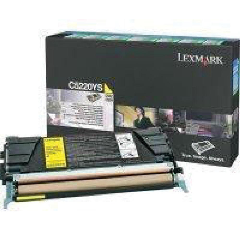 Lexmark C530 Yellow Toner Cartridge - 00C5220YS