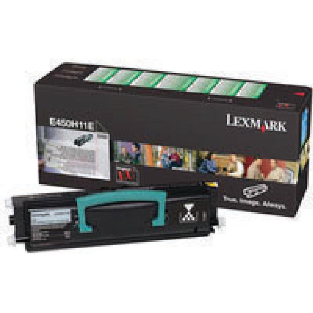Lexmark E450 Black High Yield Return Program Toner Cartridge E450H11E